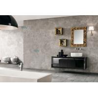 China Black Body Single Bathroom Vanity Simple Upside Down Triangle White Basin on sale