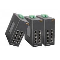 unmanaged Dinrail gigabit network switch with 8 fast gigabit ethernet ports