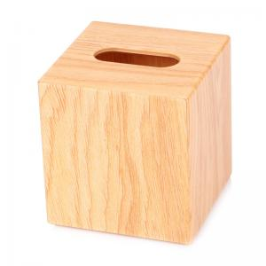 China Bespoken square tissue cover wooden finished acrylic for 5-star hotel on sale