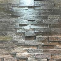 Decorative Slate Cultured Stone Ledgestone For Walls Split Surface Finishing