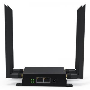 China Industrial 4G SIM Card Router Openwrt 300Mbps 2.4G Wifi RS232&485 Ports Metal Case on sale