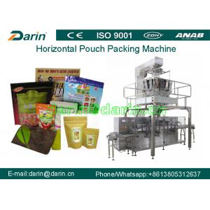 China Automatic Pre-made Bag Granule Packaging Machine With Stand-up Zip Bag for puffy food , snacks , corn flakes on sale