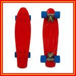 O plutônio novo do pedal dos PP do skate plástico roda a forquilha de alumínio