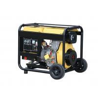 Air Cooled Silent Diesel Generator Set Engine Open Type Key Start 220V 6 Kw TW 7500EX