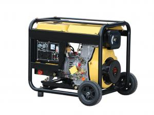 Quality 720x492x655mm Diesel Powered Home Generators 6000w TW 7500 Open Type for sale