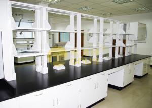 China Slab Black epoxy resin laboratory countertops corrosion resistance for university on sale