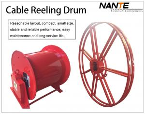 China Crane Components Cable Reeling Drum Flat Electrical Cable 380v/440v Voltage on sale