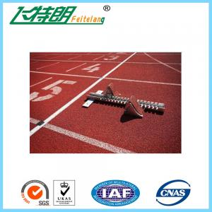 China Commercial Rubber Flooring Adhesive Playground Running Track Colorful Breathable Floor on sale