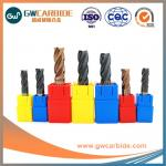 High Quality and wear resistant Tungsten carbide end mills for cutting tools
