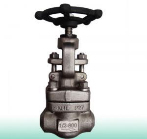 China API 602 Integral Seat Forged Steel Valve Globe Swivel Plug Pressure Sealing Bonnet on sale