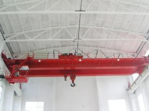 China 250 Ton Double Girder Overhead Crane Rail Electric Hoist For Workshop Optional Color on sale