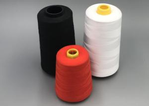 China Low Shrinkage 30/2 100% Spun Polyester Yarn For Knitting And Weaving on sale