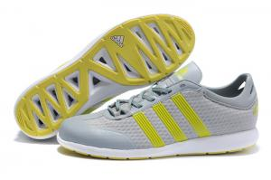 China Shape up grey  and yellow Mesh + PU Mens Casual Walking Shoes / Sport Athletic running on sale