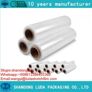 China Transparent Handy Stretch Film Mini Stretch Wrap plastic pe stretch film on sale