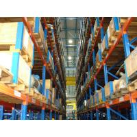 China Steel Industrial Selective Pallet Racking System 2m - 12m , Box-shape Beams on sale