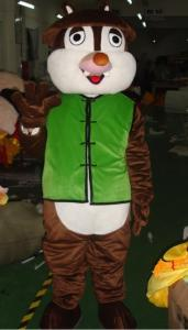 Quality Good ventilation squirrel chipmunk mascot animal costumes for kid for sale