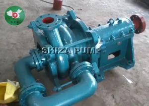 China Metal Liner Fly Ash Low Suction Head Centrifugal Slurry Pump With Electric Motor on sale