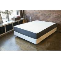12 Inch Natural Latex Gel Memory Foam Bed Mattress Polyester Knitted / Suede Fabric