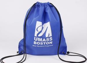China Cute Promotional Gift Bags , Promotional Drawstring Backpacks W38*H48 cm on sale