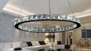 China Modern LED crystal chandelier lights lamp bedroom kitchen Living Room Warranty on sale