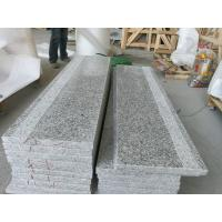 China Chinese Cheap Polished G602 Grey Granite Flooring Tile for Interior and Exterior Building stone G602 granite Stairs on sale