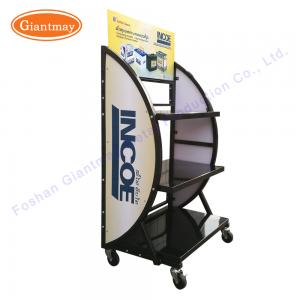 China Free Standing 3 Layer 1200mm Height Automotive Battery Rack on sale