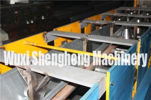 China Steel Structure Drainpipe System Seamless Gutter Machine HT200 on sale