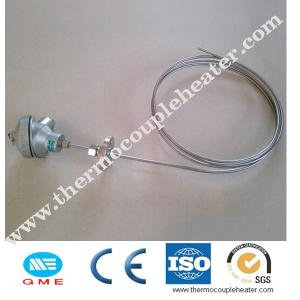 China K Type MI Thermocouple With Thermocouple Head Mineral Insulated Cable on sale