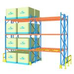 100cm Width Heavy Duty Pallet Racks For Supermarket / Factory Corrosion Protection
