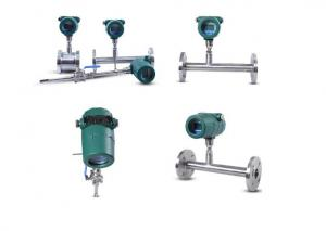 China 1.0% Accuracy Mass Flow Meter , IP67 Insertion / Flanged Flow Meter on sale
