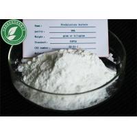 Pharmaceutical Raw Powder Prednisone Acetate For Anti-Allgeric CAS 125-10-0