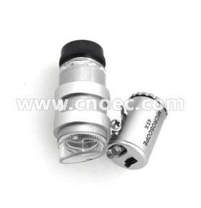 China 45x - 60x LED UV Light  Mini microscope jewelry , jewellery microscope G12.4504 on sale