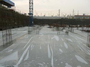 China Os materiais de construção concretos planos da folha do filme de cura da economia da água escolhem a camada on sale