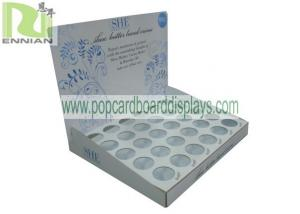 China Offset Printing Pop Corrugated Cardboard Display Stands For Skin Care Products on sale