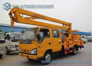 China ISUZU 600P 130hp High Altitude Operation Truck  , 16M Aerial Platform Truck on sale