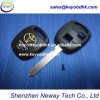 Toyota  transponder car key casing  & Toyota key blank 2 buttons