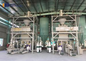 China Building Materials Wet Dry Mix Plant Steady Type With Dust Collector Water Proof on sale