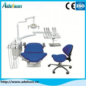China Good quality factory price with ISO and CE approved dental chair leather cushion and LED sensor lamp dental unit on sale