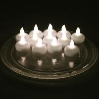12 Pcs Smokeless Waterproof Led Candle Light For Birthday Parties Decoration