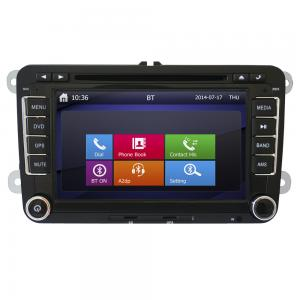 China Pioneer high quality car mp3/4 player Gps navigator for VW with7 inch touch screen on sale