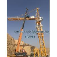 Capacity 12t Topkit Tower Crane 70mts Hoisting Jib TC7032 with 7.5m Base Mast