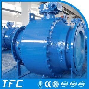 China china supplier trunnion mounted ball valve, trunnion ball valve on sale