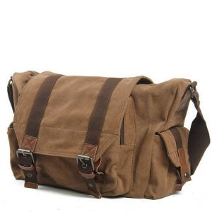 China Vintage Canvas Casual Outdoor Travel Duffel Shoulder Crossbody Messenger Bag on sale