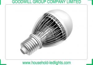 China 60mm Top Diameter 5 Watt LED Light Bulbs 4000K With Aluminum Fin Heat Sinking on sale