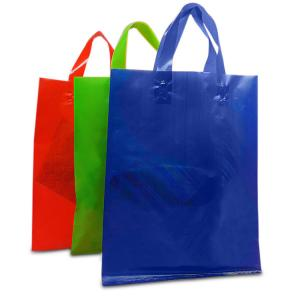 China Large Size Retail Shopping Bag Eco Friendly Customized Logo Acceptable on sale