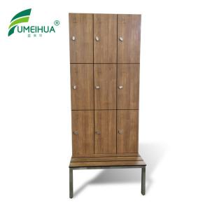 China phenolic compact laminate beach locker cabinet/ coin operated locker and school lockers for sale on sale