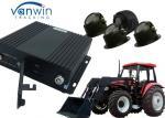 4CH AHD MDVR 3G Mobile DVR 3G 4G GPS WIFI mobile car dvr with G - sensor