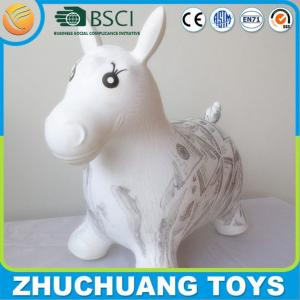 China custom design color painting horse riding toy on sale