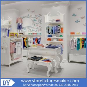 China Matte white lacquer kids clothing stores - Popular Best Kids Clothing Stores/fashion kids store on sale