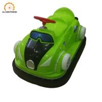 Popular family ride cartoon character little electric battery bumper car for sale